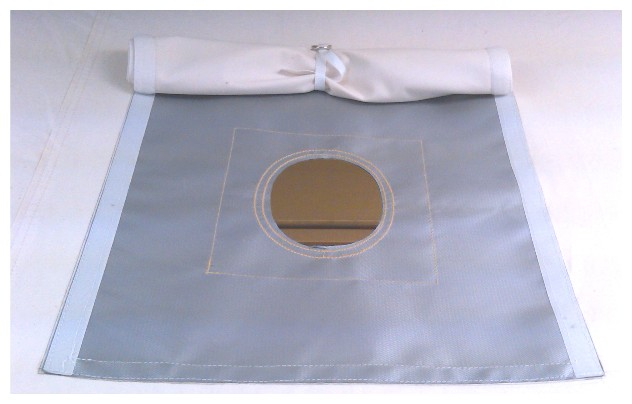 Stove Jack Kit- Complete With Sewing Kit and Velcro Flap Cover
