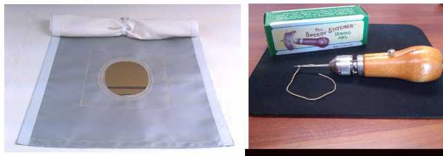 low priced 186aa f50da Stove Jack Kit- Complete With Sewing Kit and Velcro Flap Cover